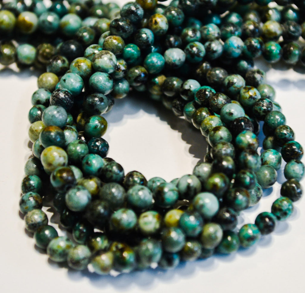 African Turquoise 4 MM