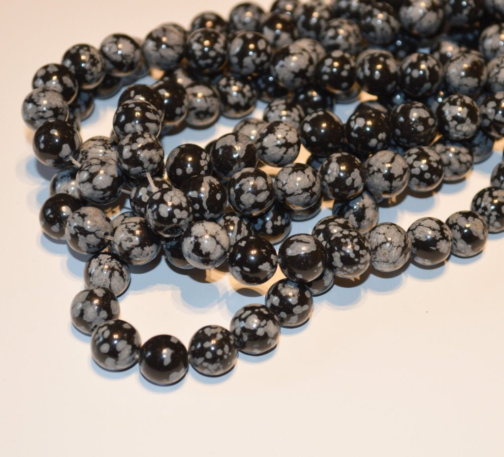 Black Snowflake Onyx 4 MM
