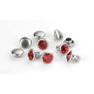 Crystal Red Rivets