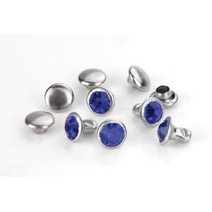 Crystal  Royal Blue Rivets