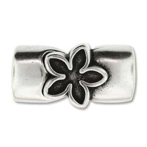 Magnetic Leather Flower Clasp
