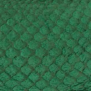 Leather  - Fish Leather Emerald