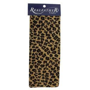 Leather Trim Leopard