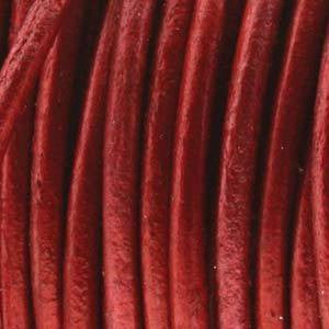 Leather  - Moroccan Red Leather  1.5