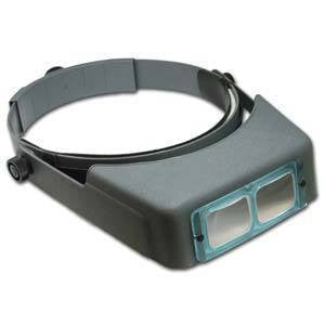 Optivisor W/Lens Plate Magnifiers