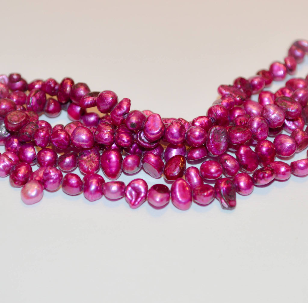 Pearls Hot Pink