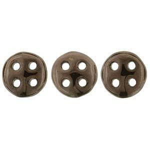 Czechmates Quadralentil Beads Dark Bronze