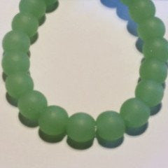 Sea Glass  Roundelle  Spring Green