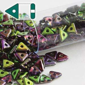 Tri Beads Magic Orchid