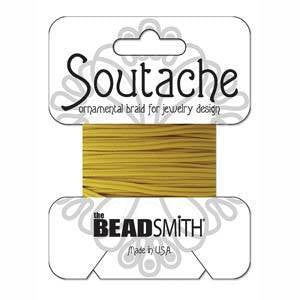Soutache  - Soutache Cord Cadmium Yellow