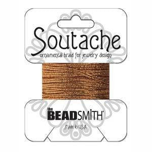 Soutache  - Soutache Cord Copper Textured
