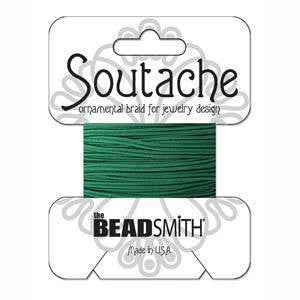 Soutache  - Soutache Cord Forest  Green