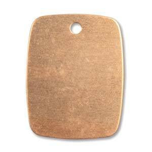 Copper Blank 24X19MM