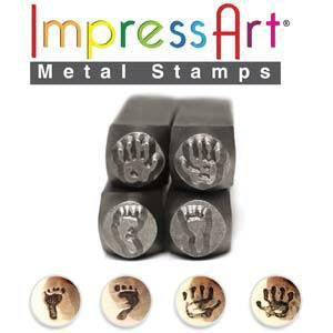 Stamping Supplies - Hand And Foot Prints Stamps Impress Art