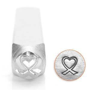 Heart Breast Cancer Stamp