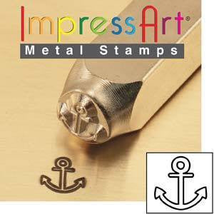 Impress Art Anchor Stamp