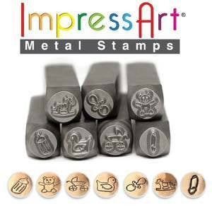 Stamping Supplies - Impress Art Baby Stamp Set