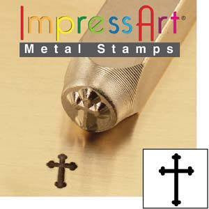 Impress Art Cross Stamp