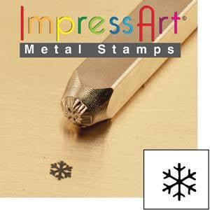 Stamping Supplies - Impress Art Snowflake Stamp