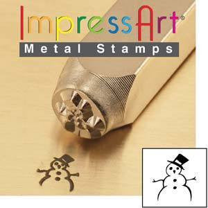 Stamping Supplies - Impress Art Snowman Stamp