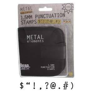 Stamping Supplies - Punctuation Stamps
