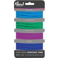 Elastic Stretchy Cord Dk Neon