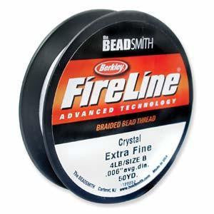 Thread And Cords - Fireline  Crystal   4lb   125 Yds