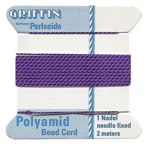 Thread And Cords - Griffin Nylon Amethyst