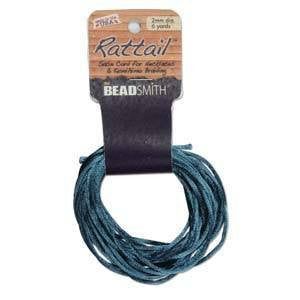 Rattail  2mm    Teal