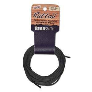 Rattail     Black         2mm