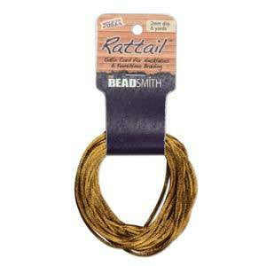 Rattail        Camel          2mm