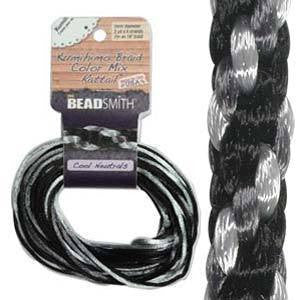 Thread And Cords - Rattail Cool Neutrals 2mm