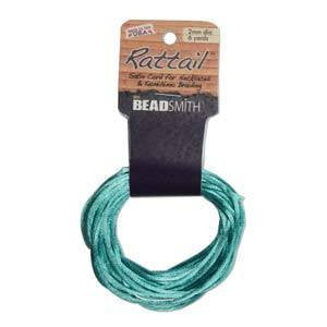 Rattail      Turquoise      2mm
