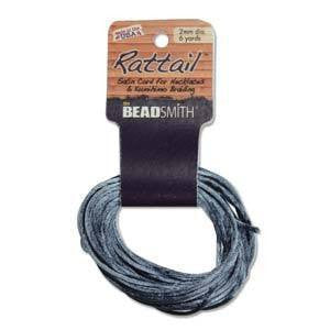 Thread And Cords - Rattail Williamsburg Blue 2mm