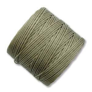 Thread And Cords - S-Lon Antique Khaki The BeadSmith