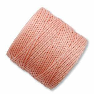 Thread And Cords - S-Lon Coral Pink The BeadSmith