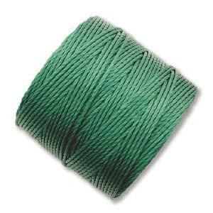 Thread And Cords - S-Lon Green The BeadSmith