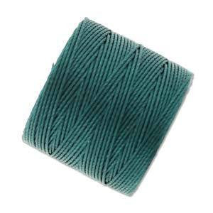 Thread And Cords - S-lon Green Blue The BeadSmith