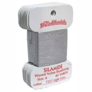 Thread And Cords - SilamideThread  Ash Grey