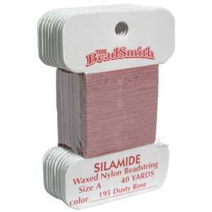 Silamide Thread Dusty Rose