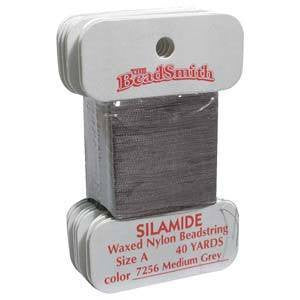 Thread And Cords - Silamide Medium Grey