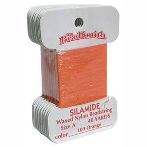 Thread And Cords - Silamide Thread Orange