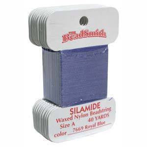 Thread And Cords - Silamide Thread  Royal Blue