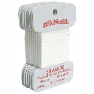 Thread And Cords - Silamide Thread White