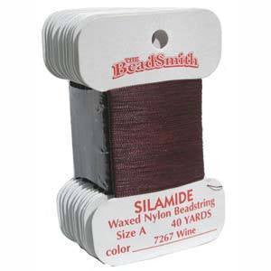 Thread And Cords - Silamide Thread Wine