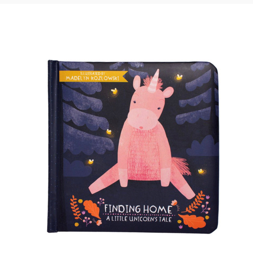 Finding Home - Little unicorn Soft Book