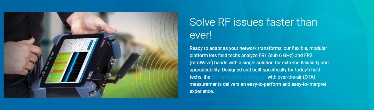 Solve RF issues faster than ever!