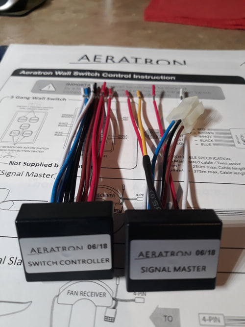 Aeratron Switches and Controls