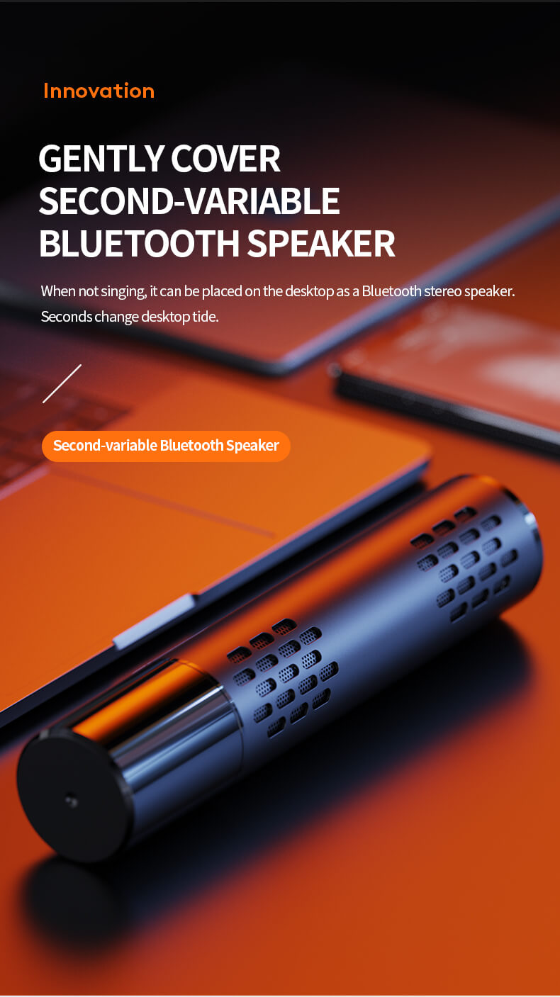Wireless Bluetooth Microphone With Speaker