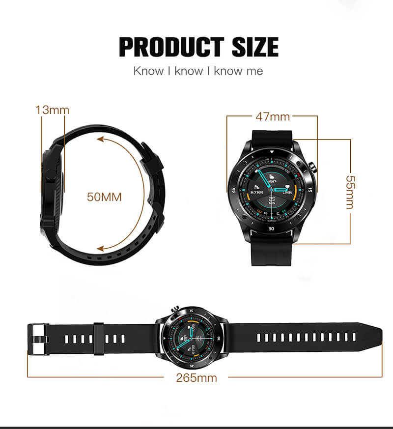 bluetooth smart watch fitness tracker